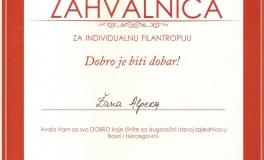 Filantropija 2014-10 fondacija Mozaik Sarajevo nagrada