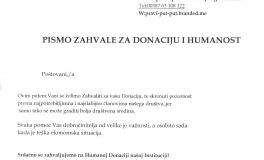 Humanitarna Organizacija-Ruku na Srce- Sarajevo 2016