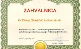 Psihijatrija KBC Mostar 01-2017
